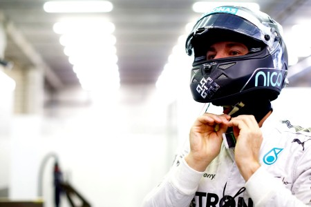 Rosberg takes fourth consecutive pole in rainy Spa