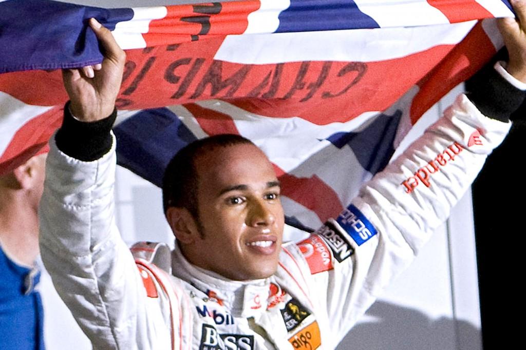 Hamilton in box seat for title