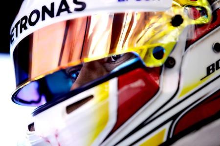Hamilton takes fourth pole from four at Bahrain
