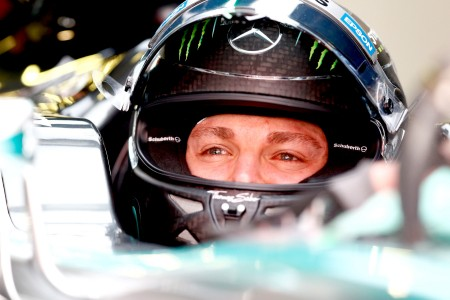 Rosberg romps to first 2015 pole