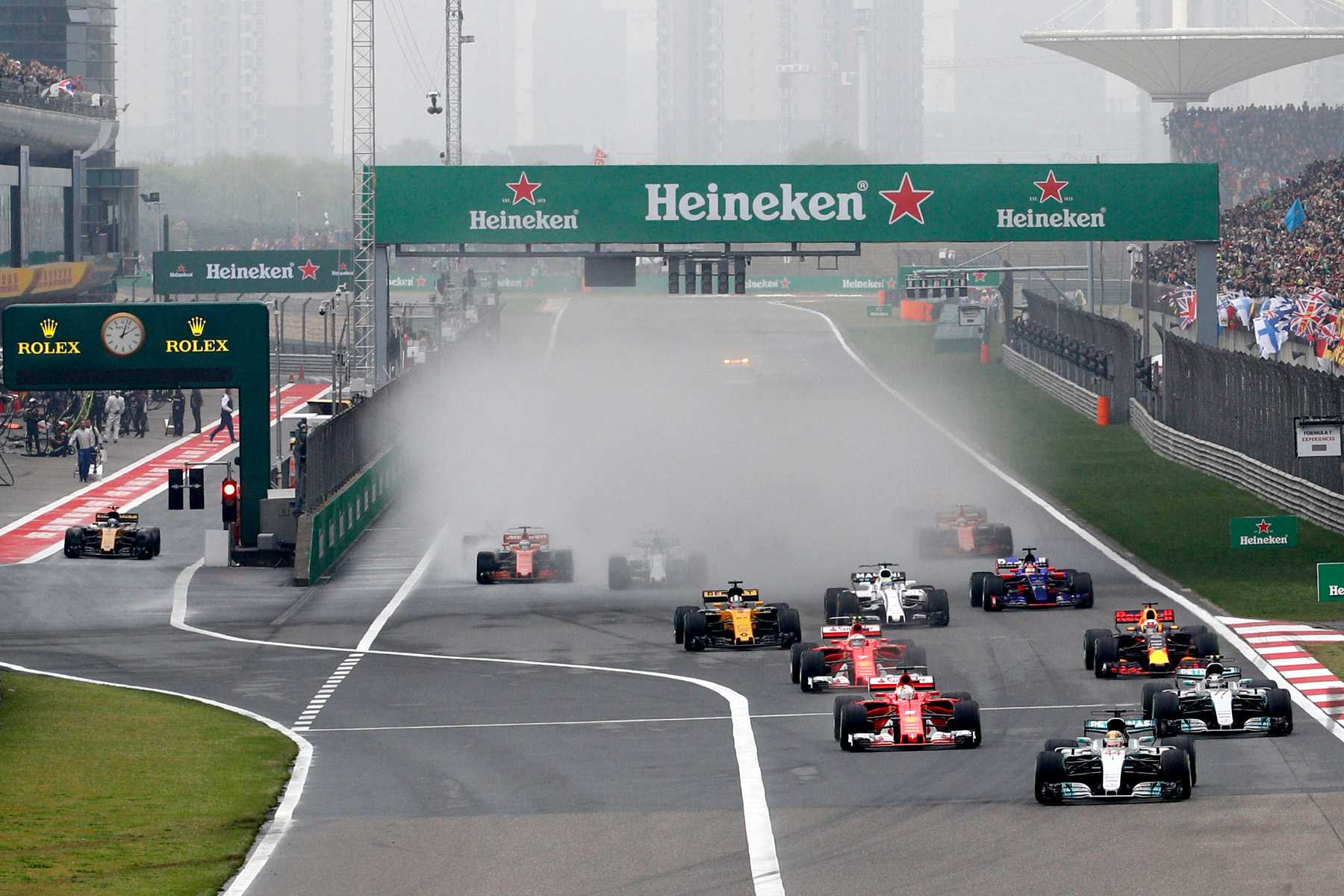 F1 haze cleared at Chinese GP