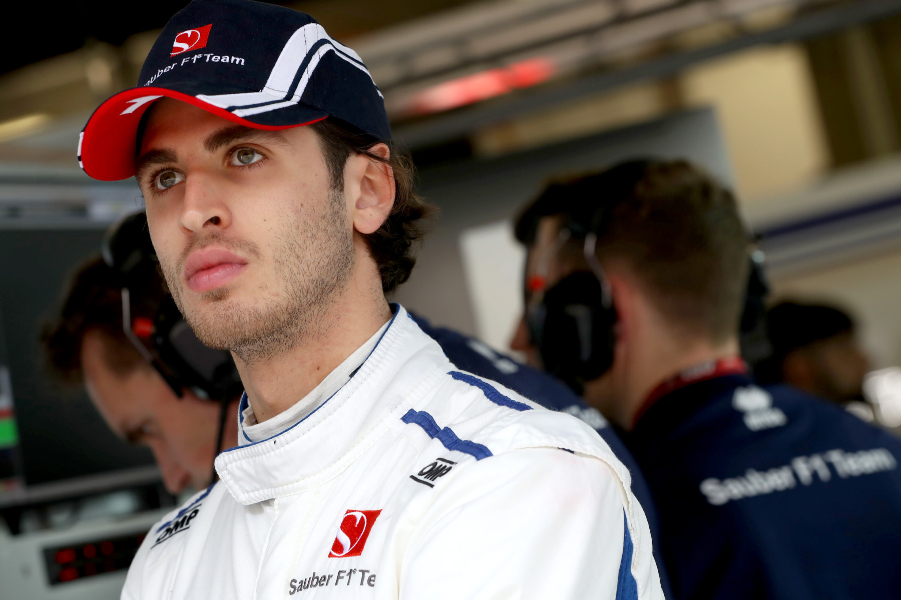 Giovinazzi ready to learn from baptism of fire