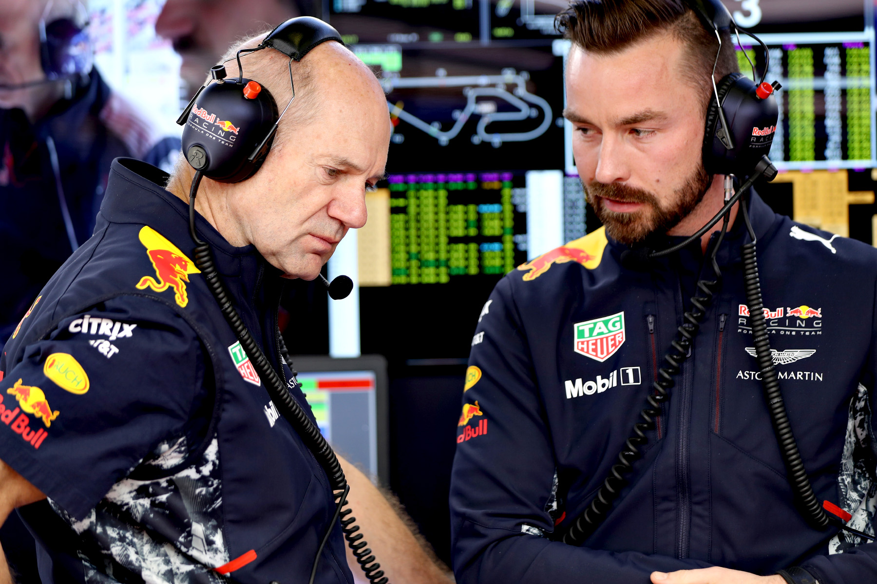 Adrian Newey at the Spanish Grand Prix