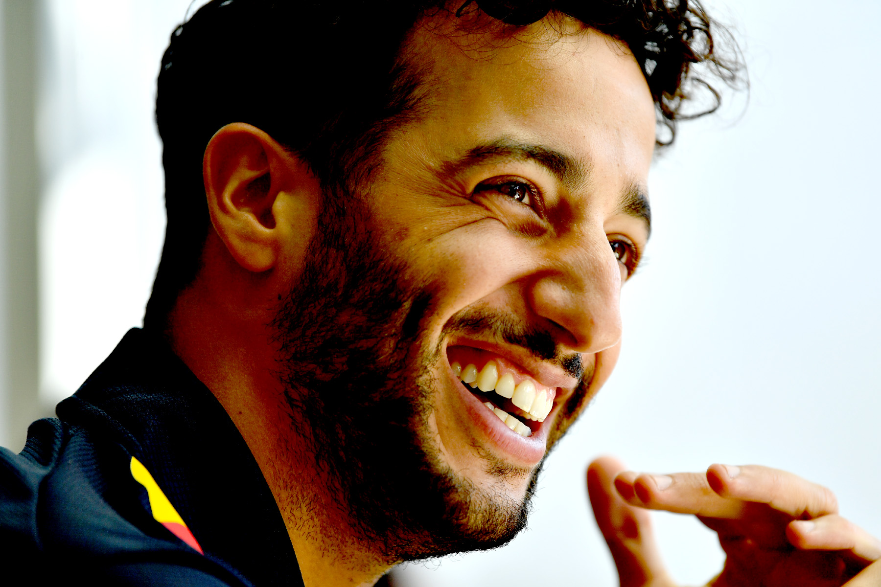 Daniel Ricciardo at the 2017 Hungarian Grand Prix.