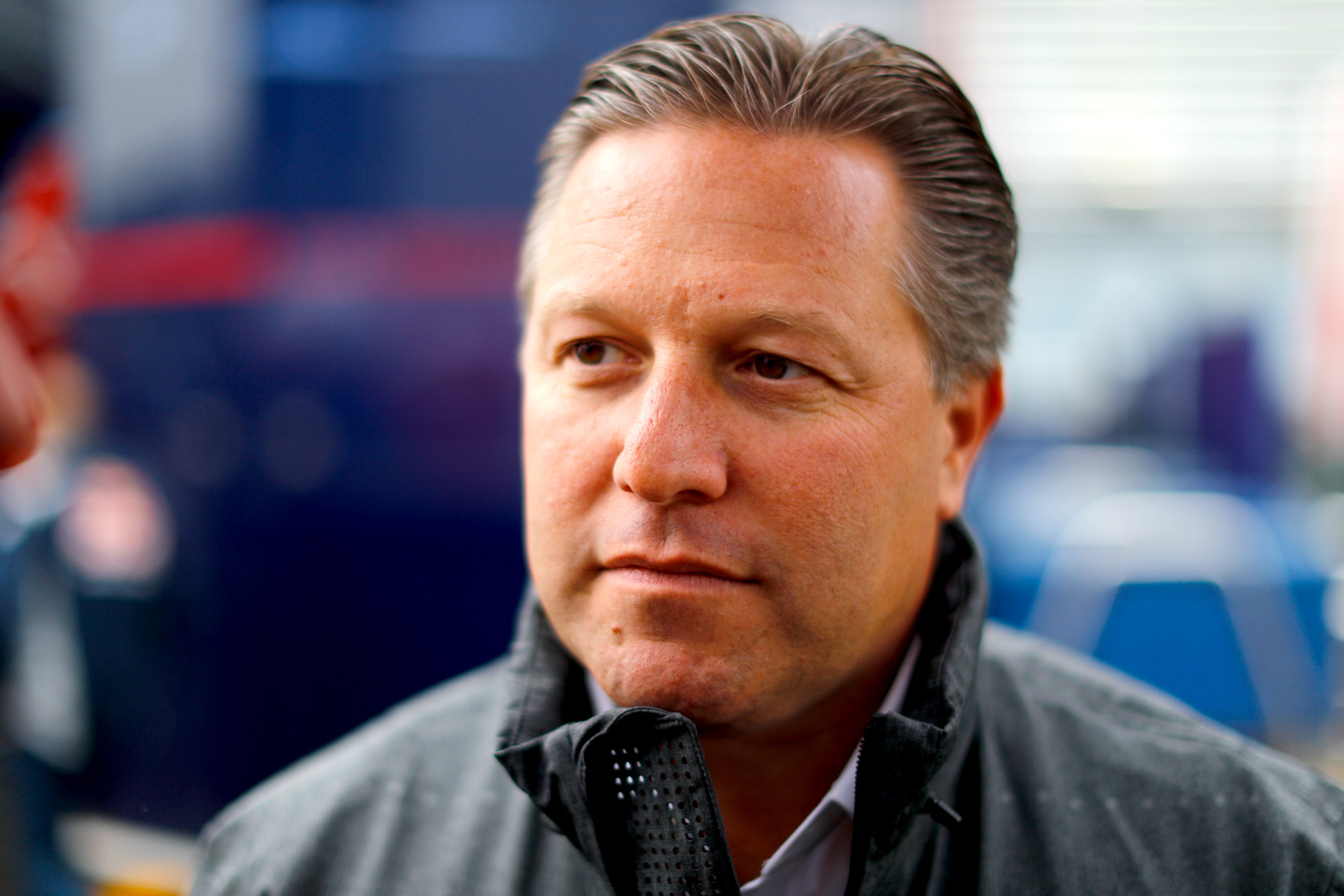 McLaren executive director Zak Brown..