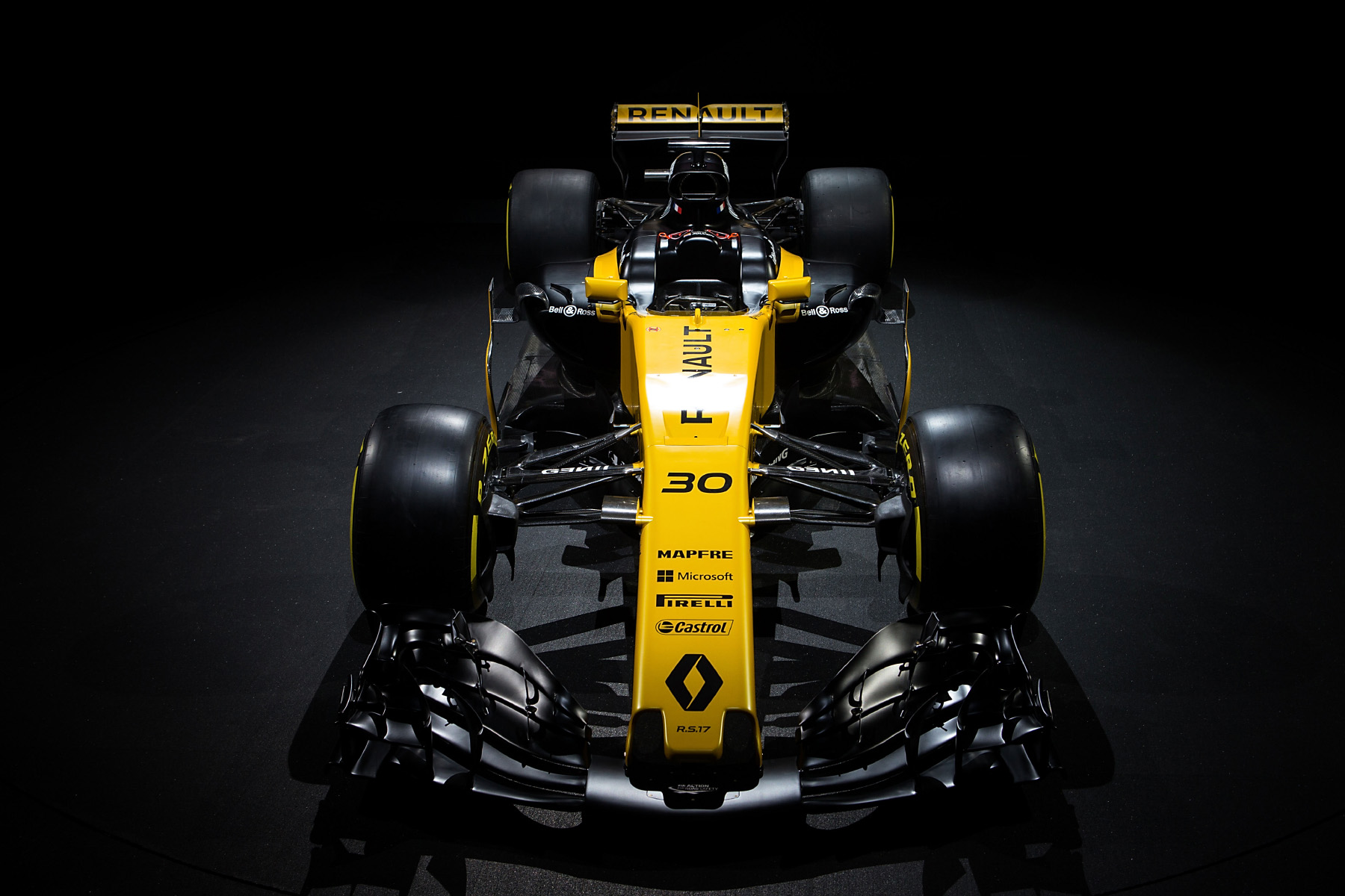 Renault's 2017 F1 car, the RS17.