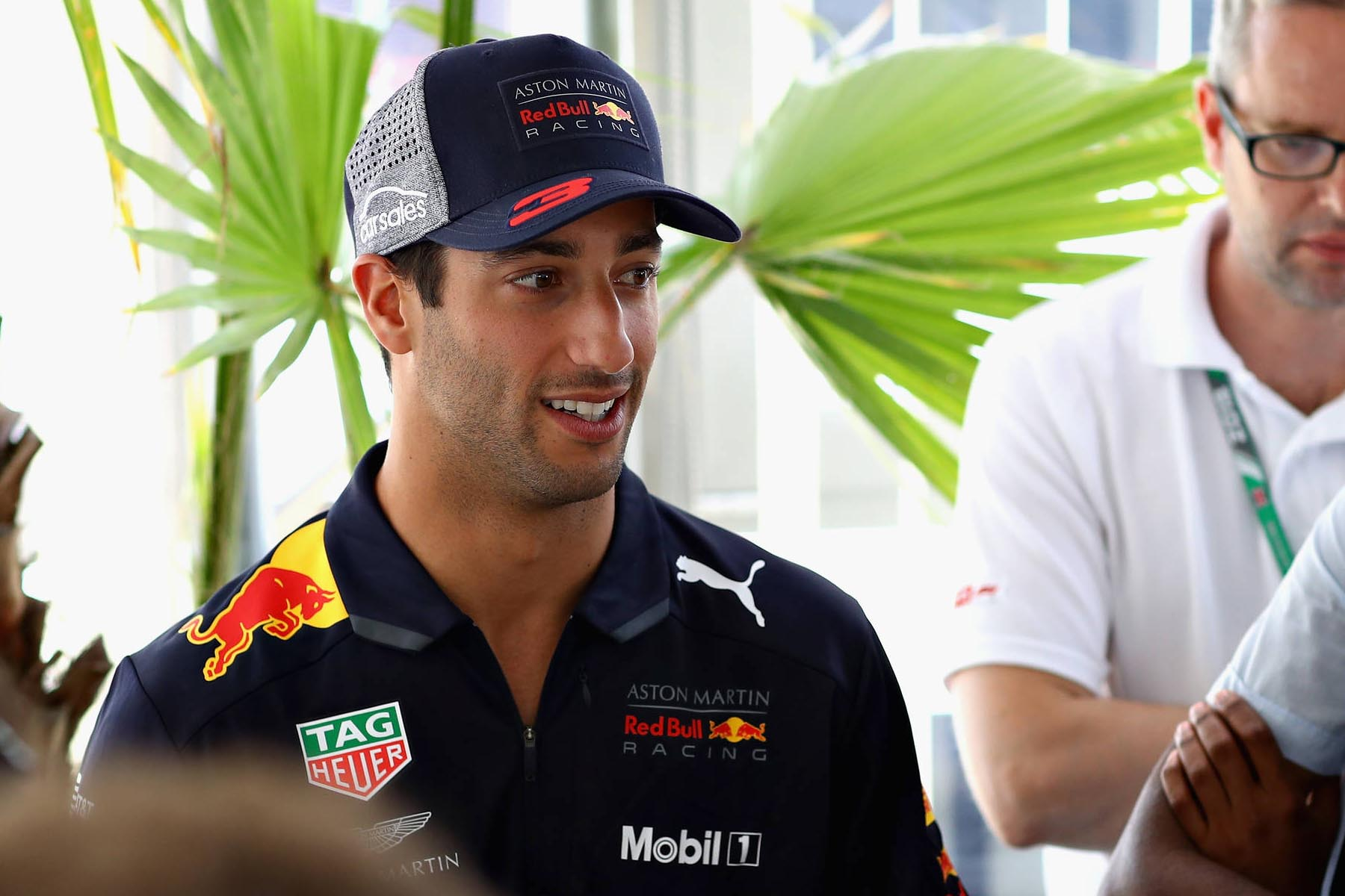 Daniel Ricciardo at the 2018 British Grand Prix