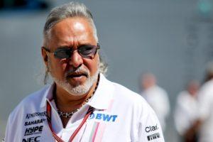 Force India team principal and former director Vijay Mallya.