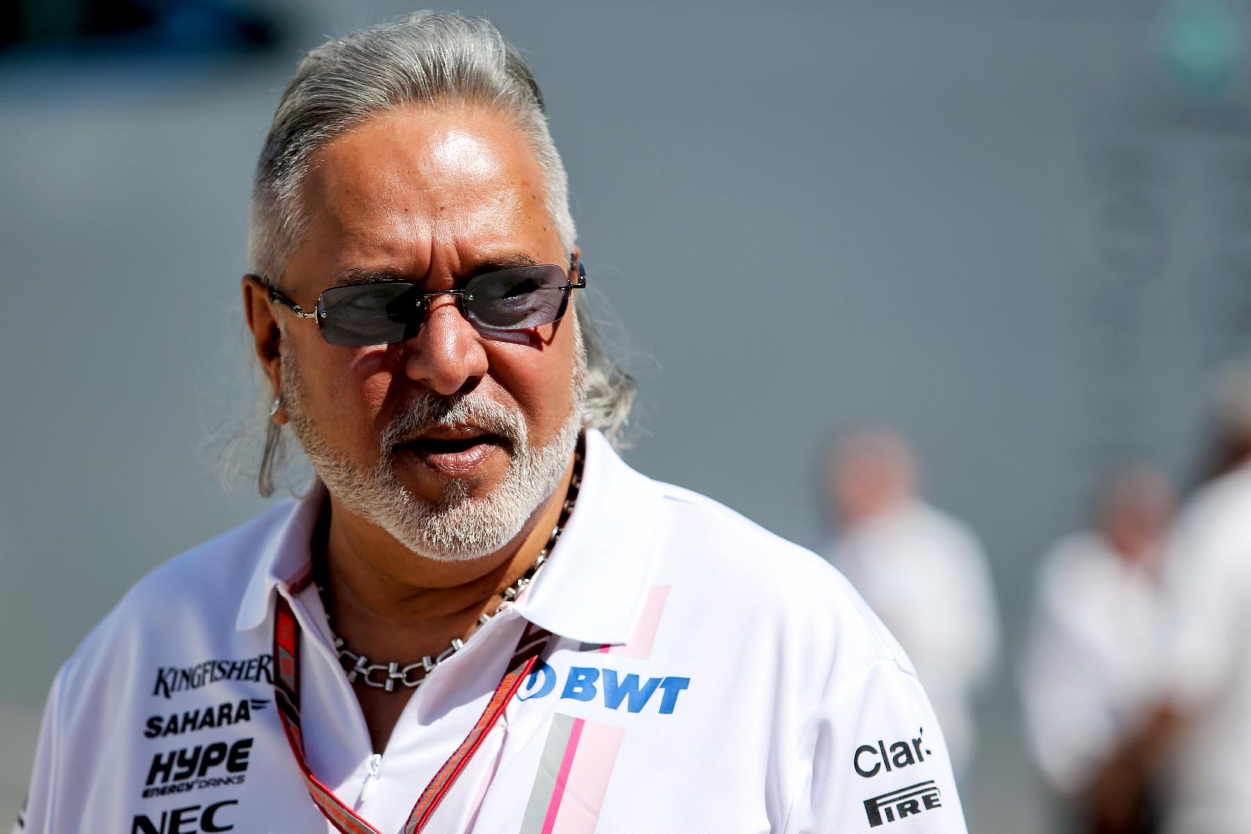 Force India team principal and former director Vijay Mallya.