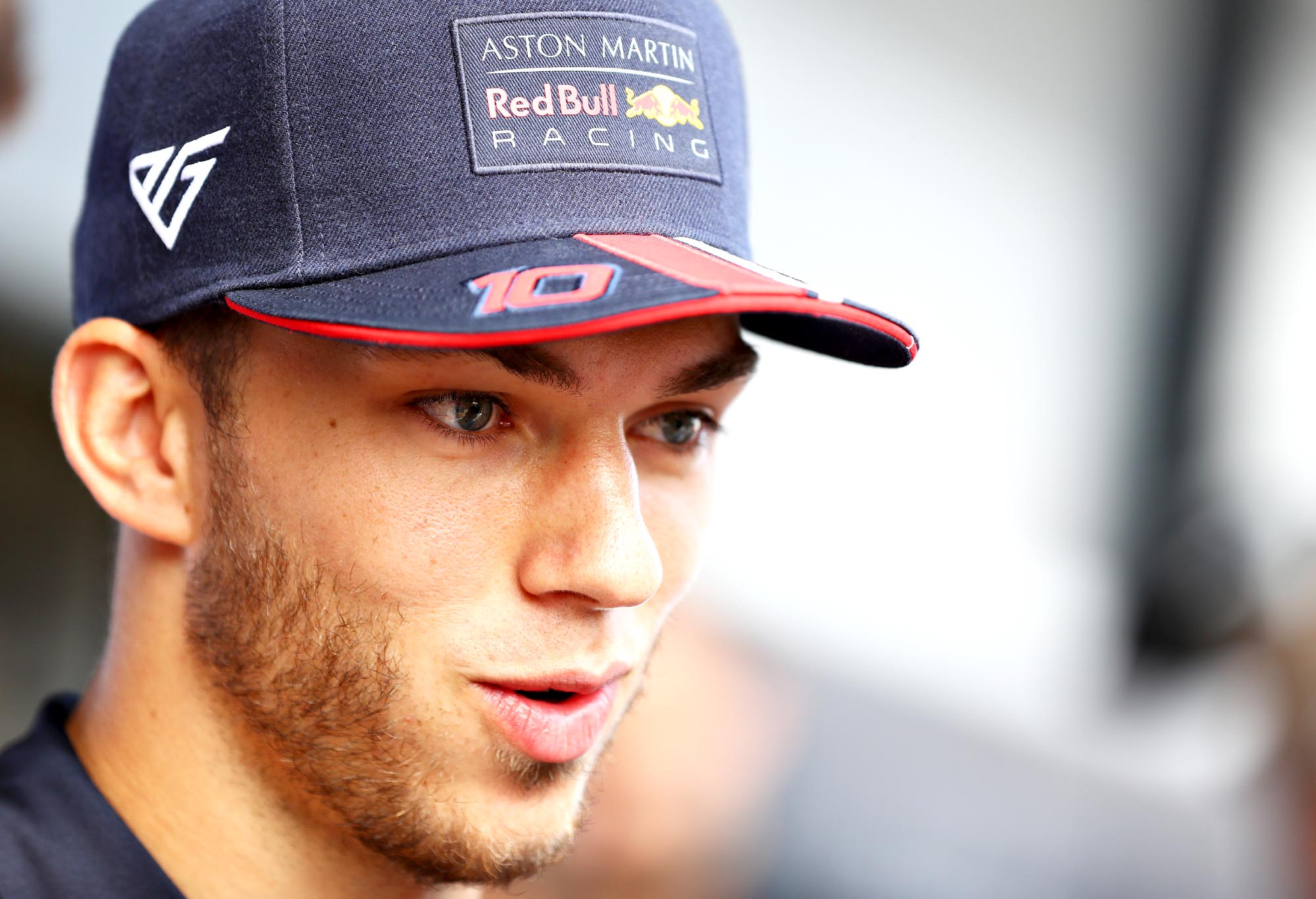 Pierre Gasly ahead of the British Grand Prix.